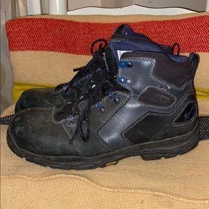 "Danner vicious 4.5"" black NMT boots steel toe 9.5"